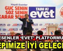 Esenler 'EVET' Platformu, referandum sonrası ilk açıklama geldi