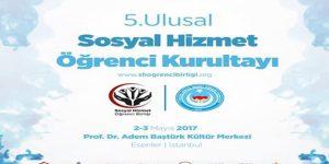 5. Ulusal Sosyal Hizmet Öğrenci Kurultayı Esenler'de yapılacak