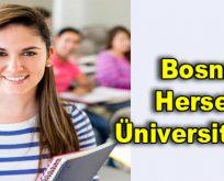 Bosna Hersek Üniversiteleri