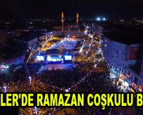 ESENLER'DE RAMAZAN COŞKULU BAŞLADI