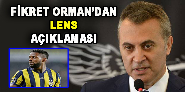 Fikret Orman'dan Flaş Lens Açıklaması