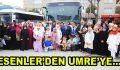 Başarılı öğrenciler Esenler'den Umre'ye uğurlandı
