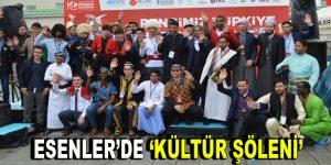 59 ülkeden öğrenciler Esenler'de Kültür Şöleni'ne katıldı