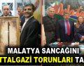 Malatya Sancağını Battalgazi Torunları Taşıdı