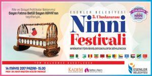 """Esenler'de """"3. Uluslararası Ninni Festivali"""""""