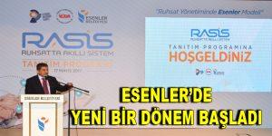 Göksu, Esenler Belediyesi'nin RASİS projesini anlattı