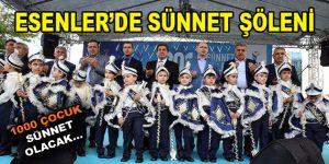 ESENLER'DE SÜNNET ŞÖLENİ!
