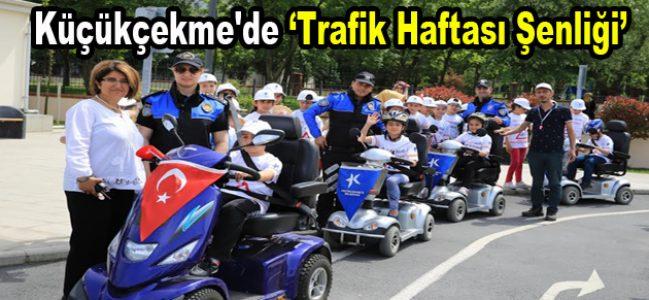 Küçükçekme'de Trafik Haftası Şenliği