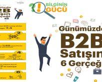 Günümüzde B2B Satışın 6 Gerçeği