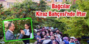 Bağcılar Kiraz Bahçesi'nde iftar sofrası kuruldu