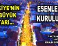 Türkiye'nin en büyük iftarı Esenler'de kuruluyor