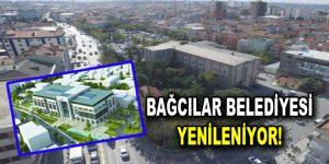 Bağcılar'da yeni hizmet binası heyecanı yaşanıyor