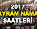 2017 Ramazan Bayram Saatleri