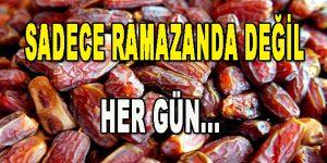 Sadece Ramazan'da değil, Her Gün…