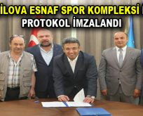Yeşilova Esnaf Spor Kompleksi için protokol imzalandı