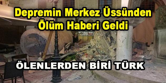 Depremin Merkez Üssünden Ölüm Haberi Geldi…