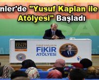 """Esenler'de """"Yusuf Kaplan ile Fikir Atölyesi"""" başladı"""