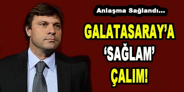 Galatasaray'a 'Sağlam' Çalım
