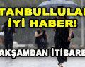 İstanbullulara İyi Haber! Bu Akşamdan İtibaren…