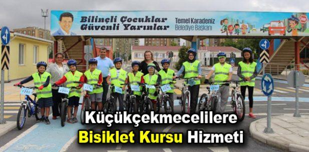 Küçükçekmecelilere bisiklet kursu hizmeti