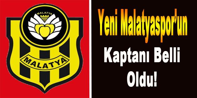 Yeni Malatyaspor'un Kaptanı Belli Oldu!