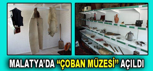 """Türkiye'nin ilk """"Çoban Müzesi"""" Malatya'da kuruldu"""