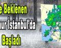 Ve Beklenen Yağmur İstanbul'da Başladı