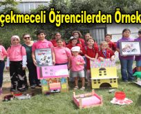 Küçükçekmeceli öğrencilerden örnek proje