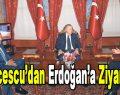 Lucescu'dan Erdoğan'a Ziyaret