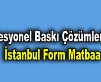 Profesyonel Baskı Çözümleri İçin İstanbul Form Matbaa