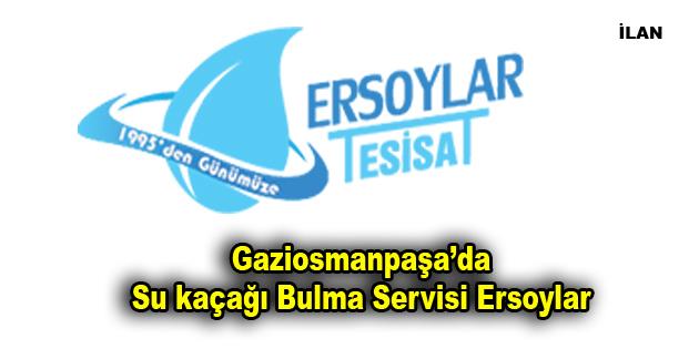 Gaziosmanpaşa'da Su kaçağı Bulma Servisi Ersoylar