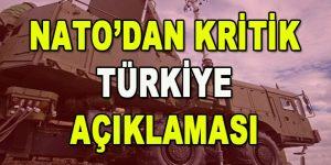 NATO'dan Kritik Türkiye Açıklaması