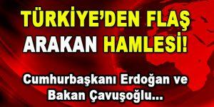 Türkiye'den Flaş Arakan Hamlesi!