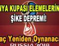 Dünya Kupası Elemelerinde Şike Depremi! Maç Yeniden Oynanacak