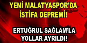 YENİ MALATYASPOR'DA DEPREM!