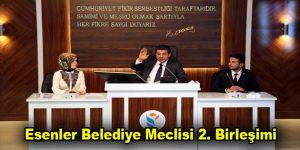 Esenler Belediye Meclisi 2. Birleşimi