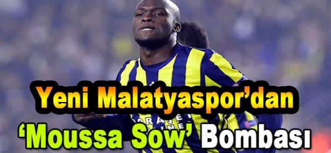Yeni Malatyaspor'dan Moussa Sow Bombası
