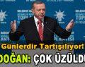 Günlerdir Tartışılıyor! Erdoğan: Çok Üzüldüm