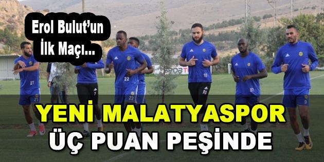 Yeni Malatyaspor 3 Puan Peşinde
