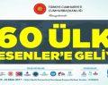 60 ÜLKE ESENLER'E GELİYOR