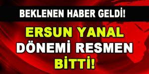 Trabzonspor'da Ersun Yanal Dönemi Resmen Bitti!