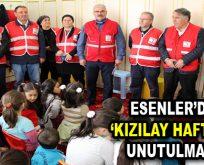 """""""Kızılay Haftası"""" Esenler'de unutulmadı"""