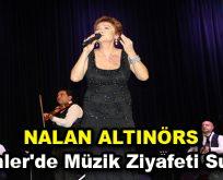 Nalan Altınörs Esenler'de müzik ziyafeti sundu