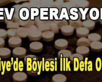 Dev Operasyon! Türkiye'de böylesi ilk defa oluyor