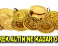 Altını fiyatlarında son durum
