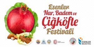 Esenler'de Nar, Badem ve Çiğköfte Festivali düzenlenecek