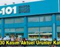 A101 30 Kasım Aktüel Ürünler Kataloğu