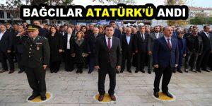 Bağcılar Atatürk'ü andı