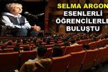 Selma Argon, Esenlerli öğrencilerle buluştu