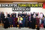 Türk ve Suriyeli kadınlar, Esenler'de bir araya geldiler